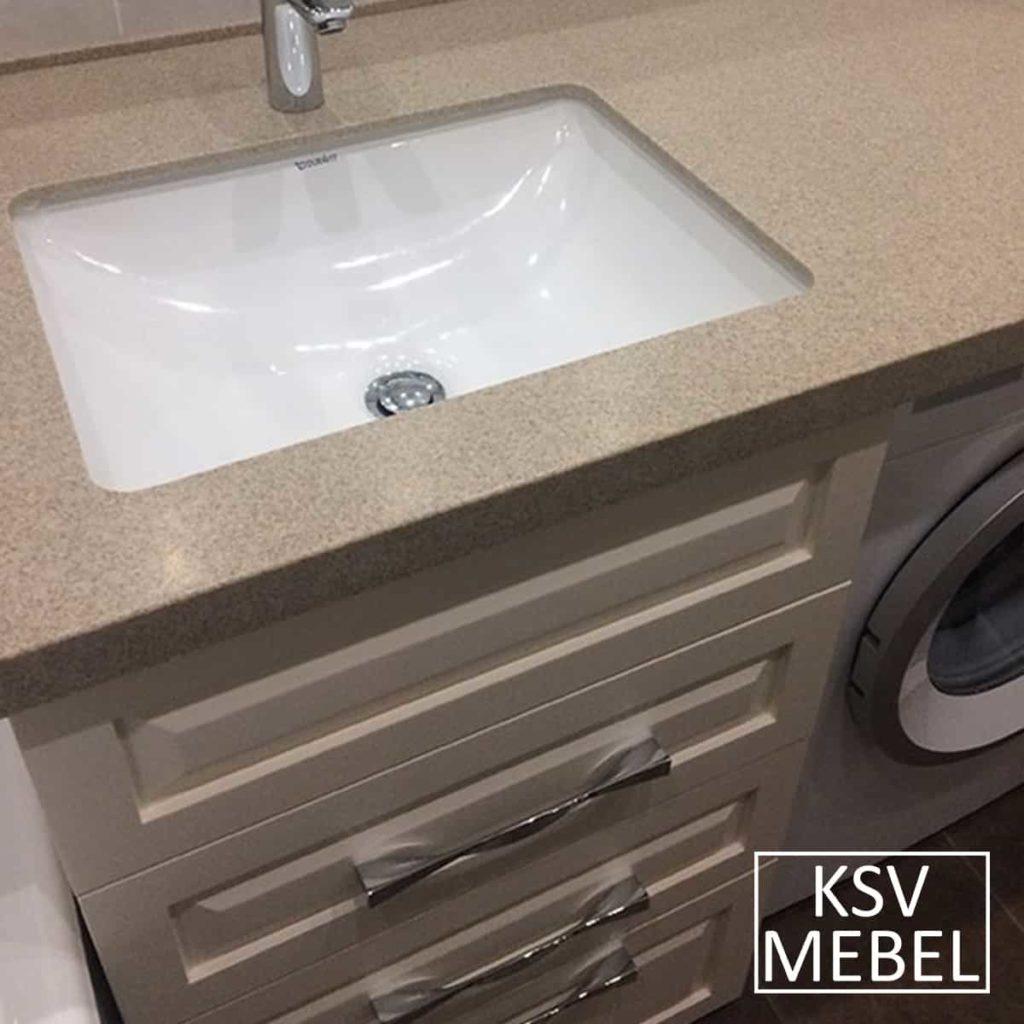 Мебель под стиральную машинку и раковина