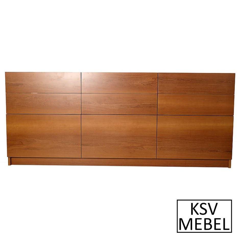 Комплект мебели на 9 выдвижных ящиков