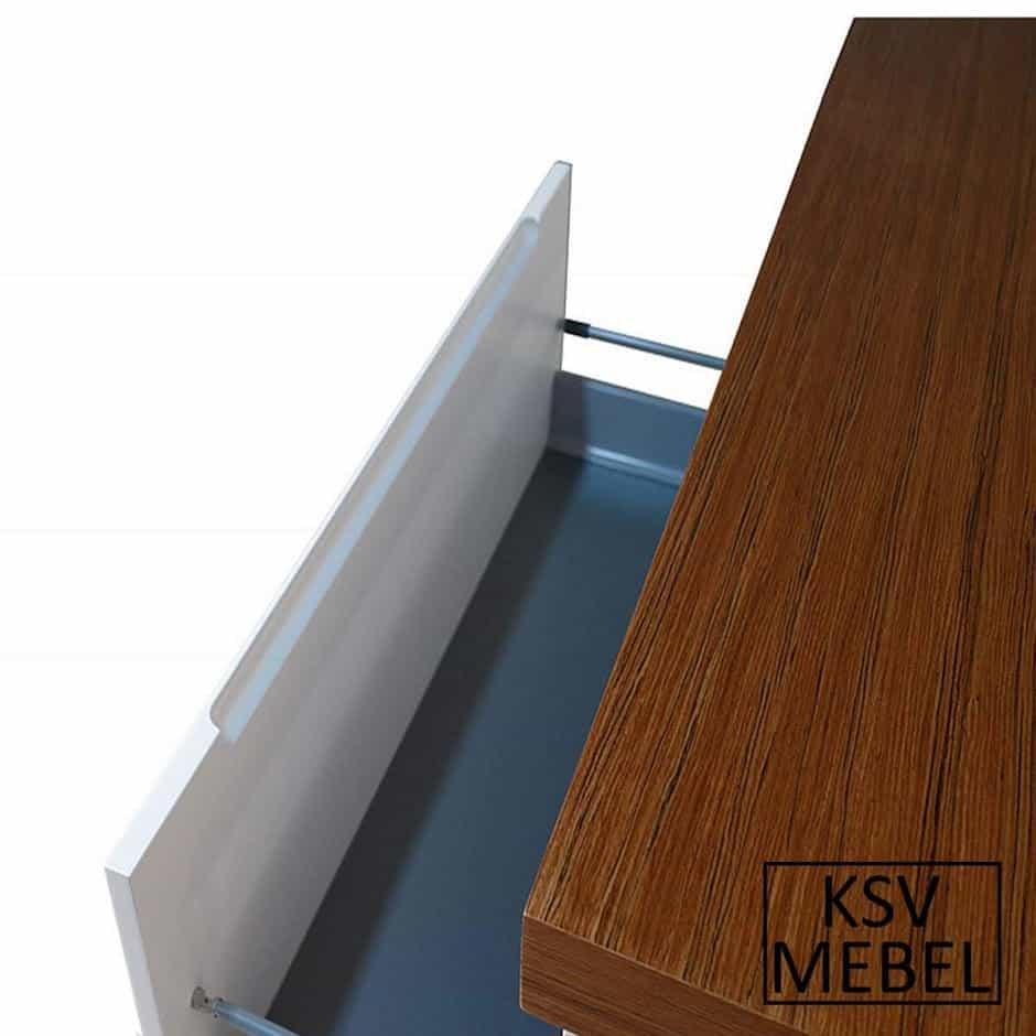 Комплект мебели со столешницей из МДФ с открытым ящиком