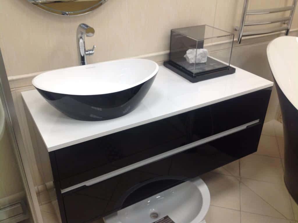 Комплект мебели с раковиной-чашей Amalfi внешний вид