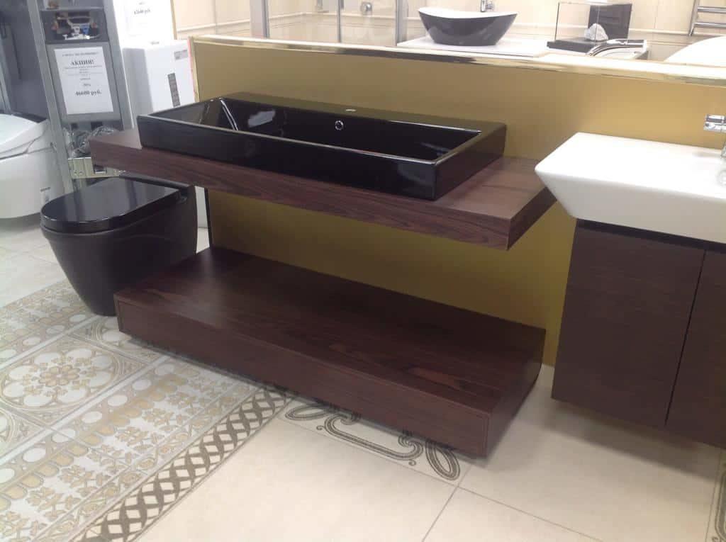 Комплект мебели со столешницей из МДФ вид сбоку