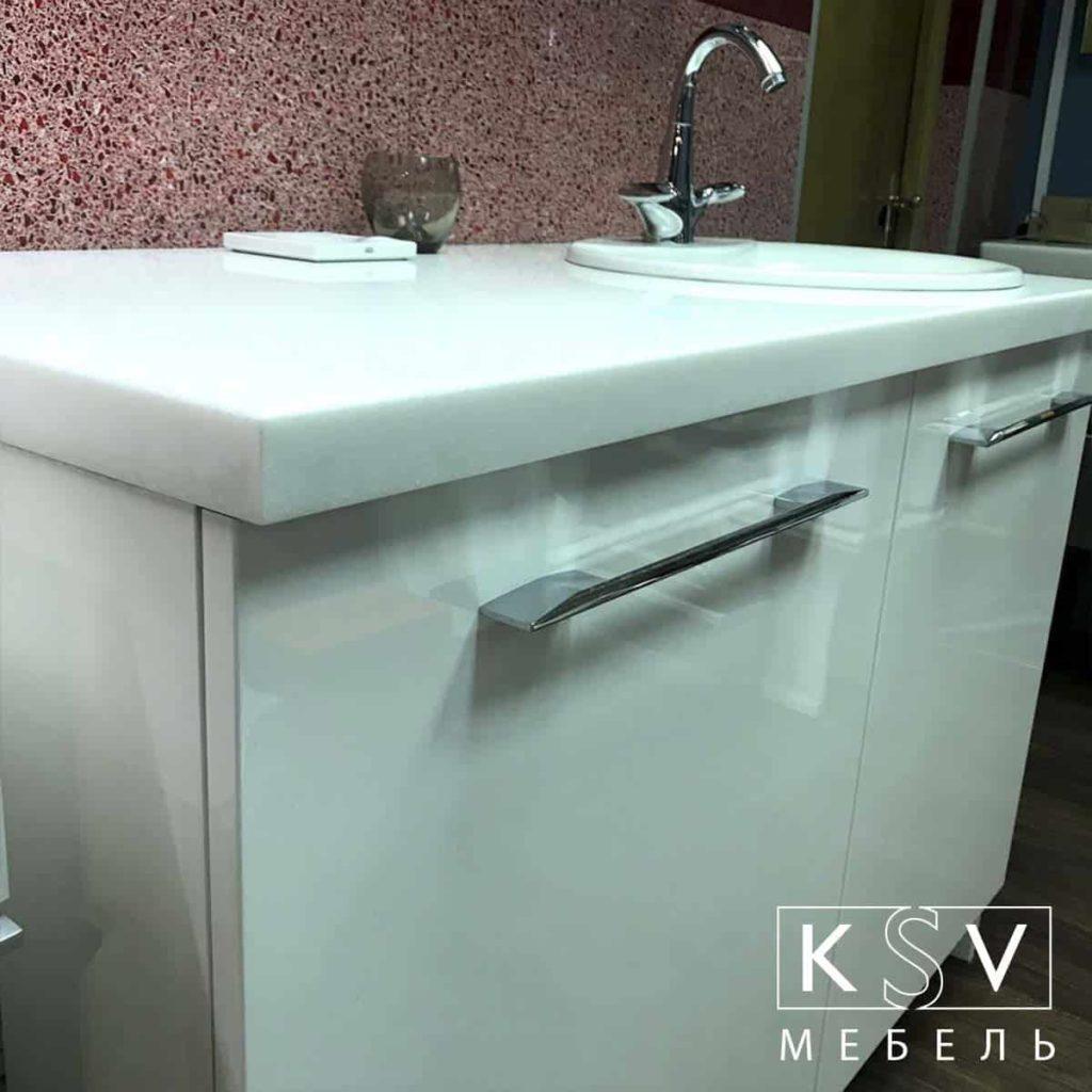 Комплект мебели для стиральной вид сбоку