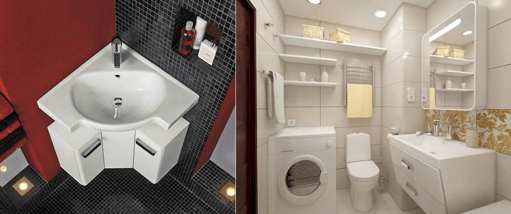 Компактная мебель для ванной