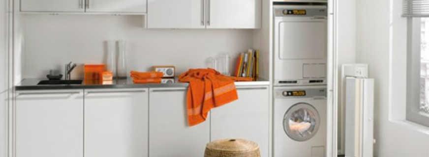 Тумба с раковиной под стиральную машину