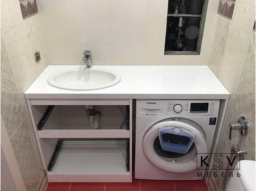 Мебель под стиральную машину на заказ